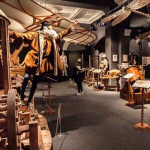 "Ultimate ""The GENIUS Tour"" – Tour of the LEONARDO DA VINCI Museum & FLORENCE (3 hrs)"